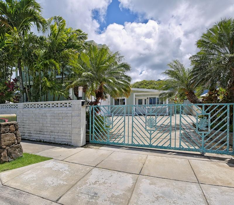 outside gate